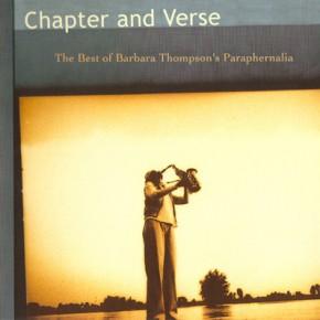 Barbara Thompson's Paraphernalia - Chapter and Verse