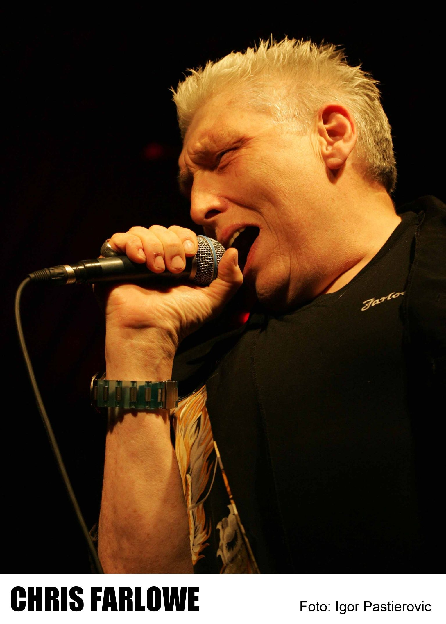 Chris Farlowe on Atomic Chart