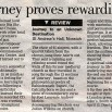 Eastern Daily Press, April 5th 2003