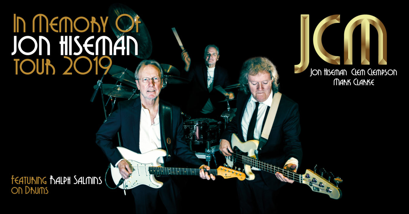 "JCM Announces 2019 Tour ""In Memory of Jon Hiseman"""