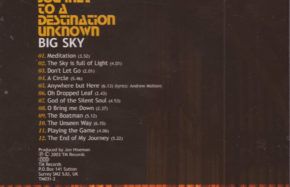 Big Sky - Journey To A Destination Unknown