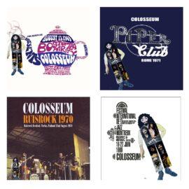 6 Colosseum LIVE Albums on CD & Vinyl