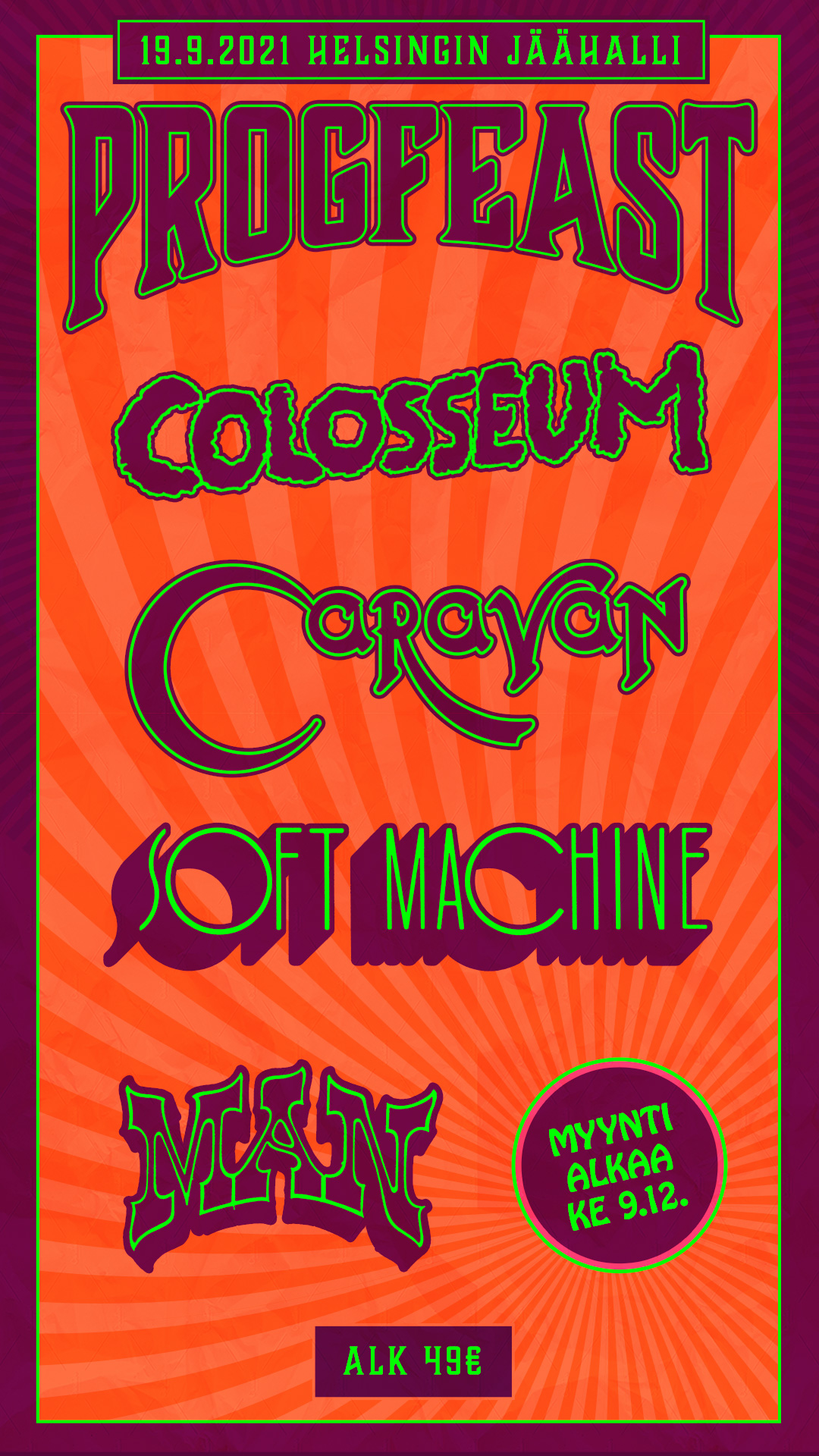 Colosseum at PROGFEAST September 2021!
